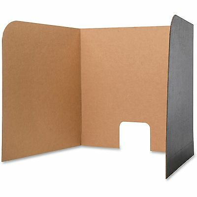 Flipside Products Computer Lab Privacy Screen Small 24/PK BK/BN 61858