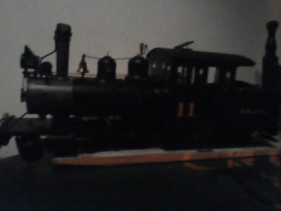 on30 DDC sound Forny and 9 logging wagon's
