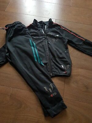 adidas messi tracksuit size 5-6