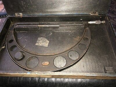 Moore Wright Micrometer,11-12 inch