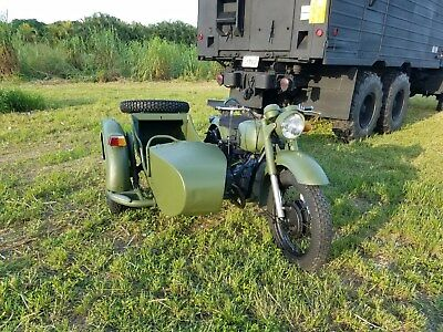 1981 Other Makes DNEIPER MT-10-36  MOTORCYCLE WITH SIDECAR DNIEPR MT-10-36 750 C.C.