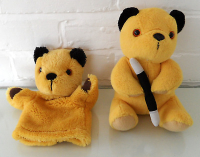 Sooty Plush Soft toy With Wand  & Sooty Hand Puppet