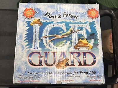 Float & Forget Ice Guard - Environmental Protection for Pond Life