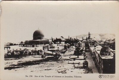 Old British Official Photo Military Temple Solomon Jerusalem Palestine  Ww1