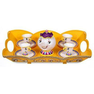 New Official Disney Beauty & The Beast Tea Set