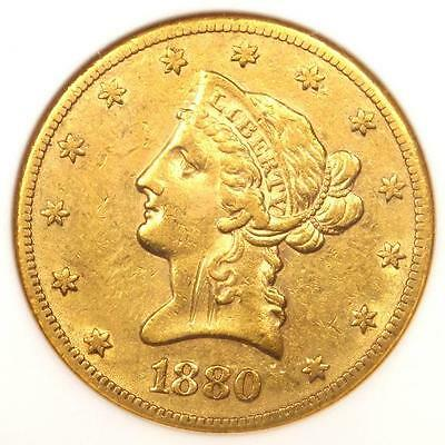 1880-CC Liberty Gold Eagle $10 - ANACS XF Details / Net VF30 - Carson City Coin!