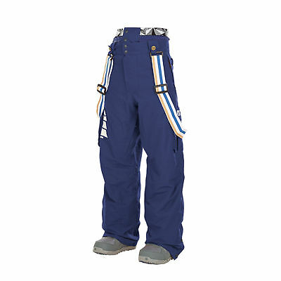 Picture Mens Panel Ski Snow Pant MPT061 Dark Blue