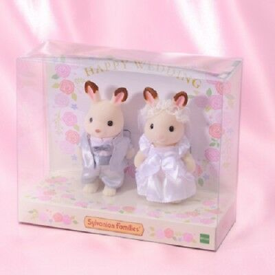 Sylvanian Families WEDDING PAIR SET Epoch From Japan Limited