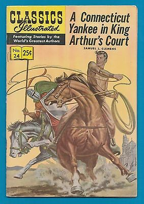 Classics Illustrated Comic 1971 Connecticut Yankee in King Arthur's Court nm#531