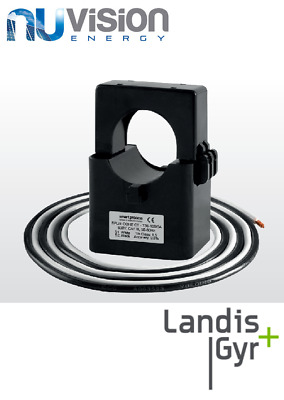 3 X LANDIS+GYR Current Transformer 100A incl. fly lead Current Sensor Clamp