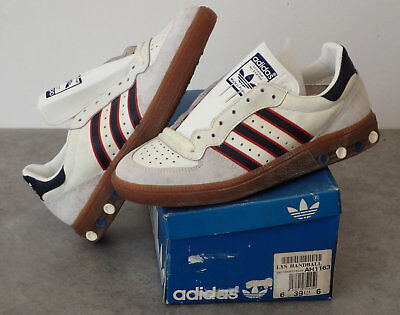 ADIDAS Vintage Chaussure hand / volley  LXS   T:39 1/3  NEUF  80s