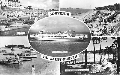 44 Carte Photo Souvenir De Saint-Brevin Multivues
