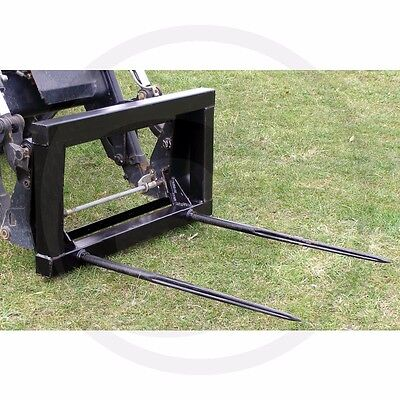 TRACTOR FRONT LOADER,BALE FORK,EURO 8 BRACKETS, BRAND NEW *(price includes VAT)*