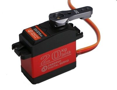 Digital RC Servo 20Kg Full Metal Gear Waterproof  - Free Servo Arm! DS3218