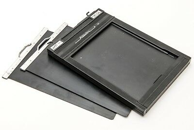 1x Double sided Riteway Graphic Film Holder Back 4x5 5x4 Darkslide Large Format