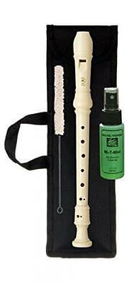 "Yamaha YRS24B Soprano Recorder Kit with Bag, Venture ""Thirsty"" Recorder Cotton S"