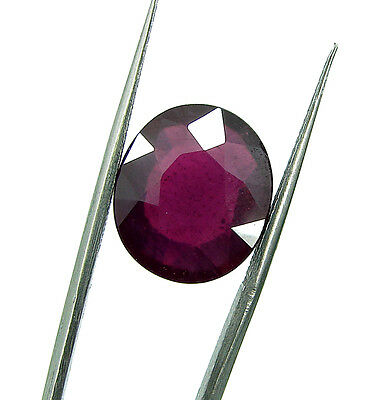 10.20 Ct Certified Natural Ruby Loose Gemstone Oval Cut Ringsize Stone - 103388