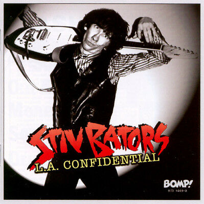 Lp Stiv Bators L.a Confidential Color Ltd Vinyl Punk