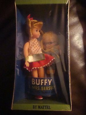 Vintage Buffy and Mrs. Beasley Dolls by Mattel (part of cellophane is taped)