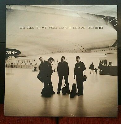 U2 - All That You Can't Leave Behind 2000 LP Vinyl Erstpressung