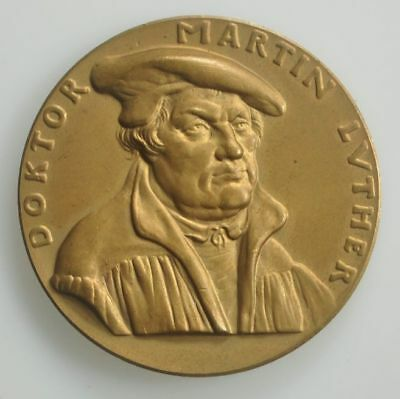 Karl Goetz medal - Reformation - Martin Luther 1917