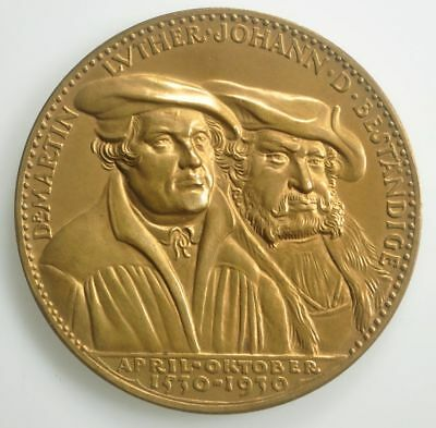 Karl Goetz medal - Reformation - Martin Luther - 60mm