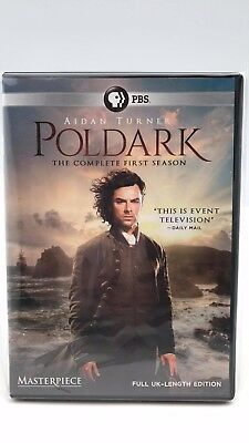 PBS Poldark: The Complete First Season 1 (DVD) Like New
