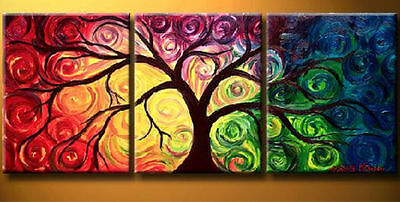 Fshion Modern Abstract Huge Wall Art Oil Painting On Canvas No Frames #