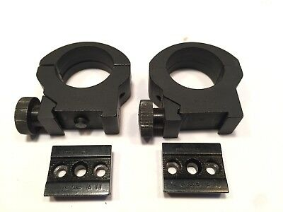 Parker Hale RAH S3  One inch scope rings & pair of A11 mounts