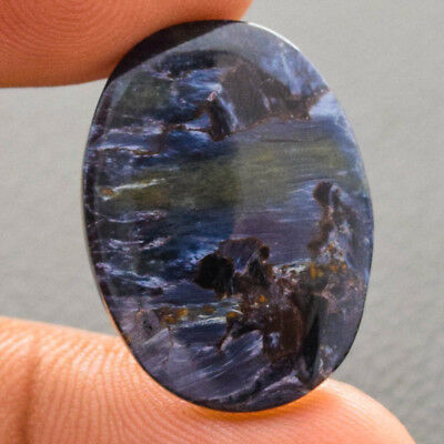 15Cts 100% Natural Pietersite Oval 25X18 Cabochon Loose Gemstone
