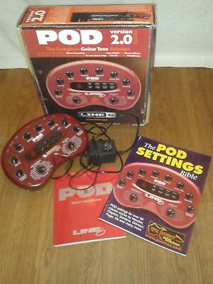 Line 6 POD 2.0 (includes Manual with C.D. + POD Settings Bible)