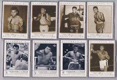 2000 Master Collection MUHAMMAD ALI 30 BASE SET #211/250 CASSIUS CLAY MINT