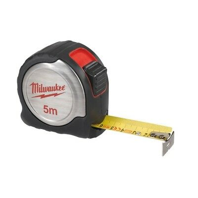Milwaukee Silver Tape Measure 5m/16ft & Free Keychain | 4932451641