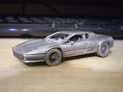 Ferrari 512 BB : Pewter Franklin Mint  Definitive Collection