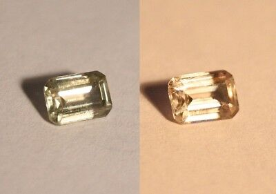 1ct Colour Change Diaspore From Turkey - Clean Emerald Cut Gem