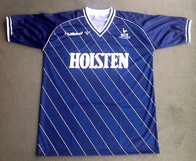 Tottenham Retro 1986-1988 Away/3rd Strip Navy Blue ALL SIZES/SLEEVES AVAILABLE