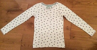 Mini Boden Pointelle Top Age 9-10 Years