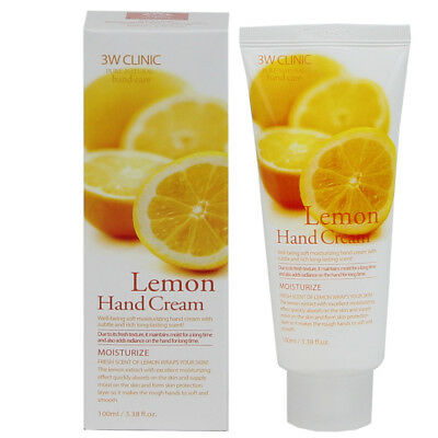 3WCLINIC Pure Natural COLLAGEN Hand Cream 100mL K Beauty Made in Korea,US Seller