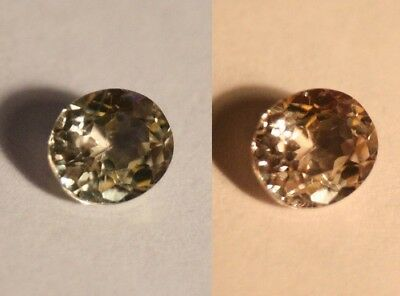 1.5ct Colour Change Diaspore From Turkey - Flawless Oval Cut Gem