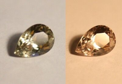 2.38ct Colour Change Diaspore From Turkey - Clean Pear Cut Gem