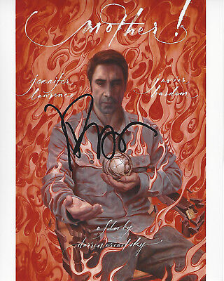 JAVIER BARDEM SIGNED AUTHENTIC 'mother!' 8X10 PHOTO w/COA SKYFALL ACTOR