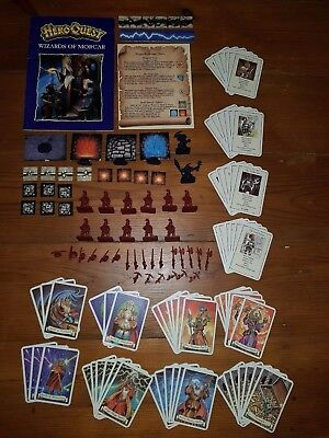 Hero Quest Expansion Packs - Kellers Keep & Return of the Witch Lord - Complete