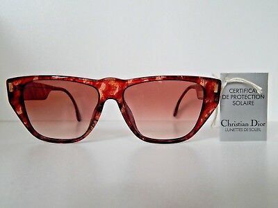 """""""christian Dior""""vintage Sunglasses.*never Used*old Stock*"""