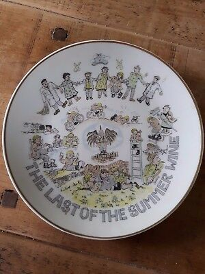 Last of the summer wine plate