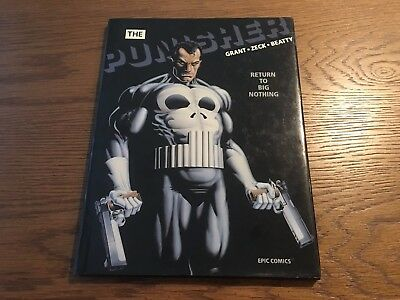 The Punisher: Return to Big Nothing Hardcover ***Autographed by Mike Zeck***