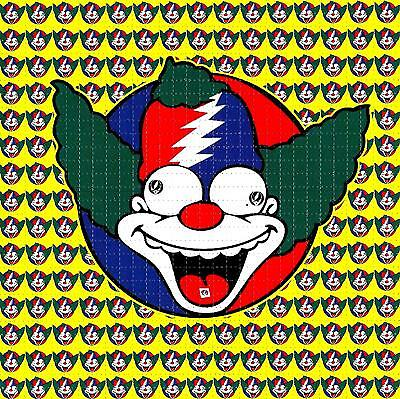 Krusty The Clown Blotter Art Psychedelic Perforated Print Acid Lsd Free