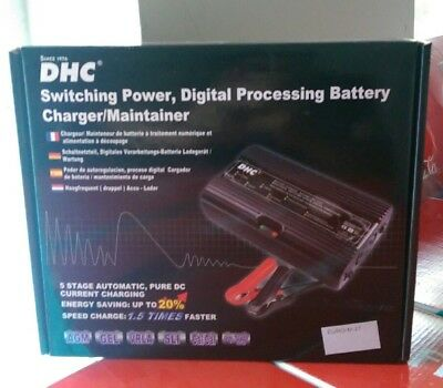 "Brand New ""dhc Digital Processing 5 Stage Battery Charger/maintainer!"