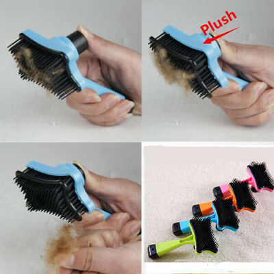 Dog Cat Pet Hair Fur Shedding Trimmer Grooming Rake Professional Comb Brush SYY