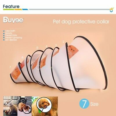 Elizabethan Wound Healing Cone Protection Smart Pet Collar medical for Dog Cat