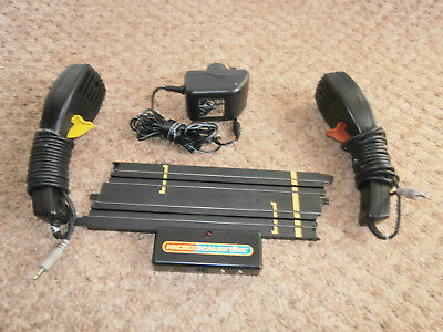 Micro Scalextric 1:64 Power Base PSU & 2 Controllers